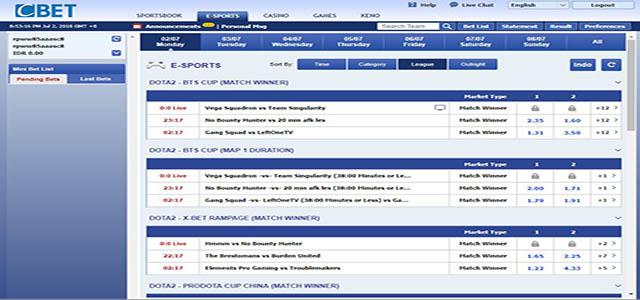 Cara Bermain Taruhan E-Sports Dari Agen Cbet Online